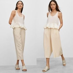 Aritzia Wilfred Alleray Blouse Size Ivory XS NWT